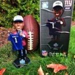 "Bobble of the Day ""Saquon Barkley "" New York Giants Draft Day Bobblehead"
