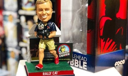 "Bobble of the Day ""Lucas Hackmann"" Rally Cat Exclusive Bobblehead"