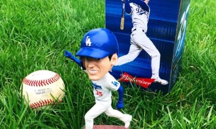 "Bobble of the Day ""Cody Bellinger"" LA Dodgers SGA Bobblehead"