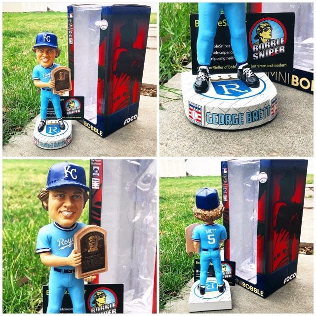 "Bobble of the Day ""George Brett"" Kansas City Royals Alumni Hall of Fame Bobblehead"