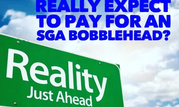 What do you really expect to pay for an SGA Bobblehead?