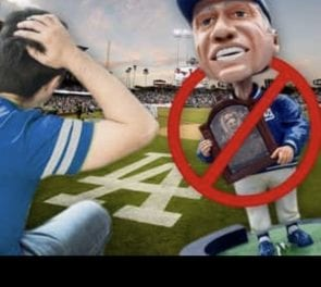 The Dodgers are suing P2 Promotions for backing out of manufacturing Tommy Lasorda bobbleheads