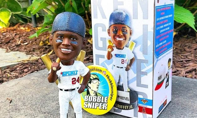 "Bobble of the Day ""Ken Griffey Jr."" San Bernardino 66ers SGA Bobblehead"