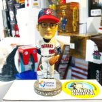 "Bobble of the Day ""Ricky Vaughn"" Akron Rubberducks SGA Bobblehead"