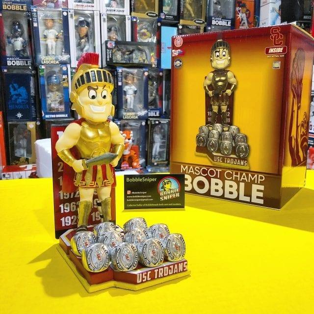 "Bobble of the Day ""USC Trojans"" National Championship Mascot Bobblehead"