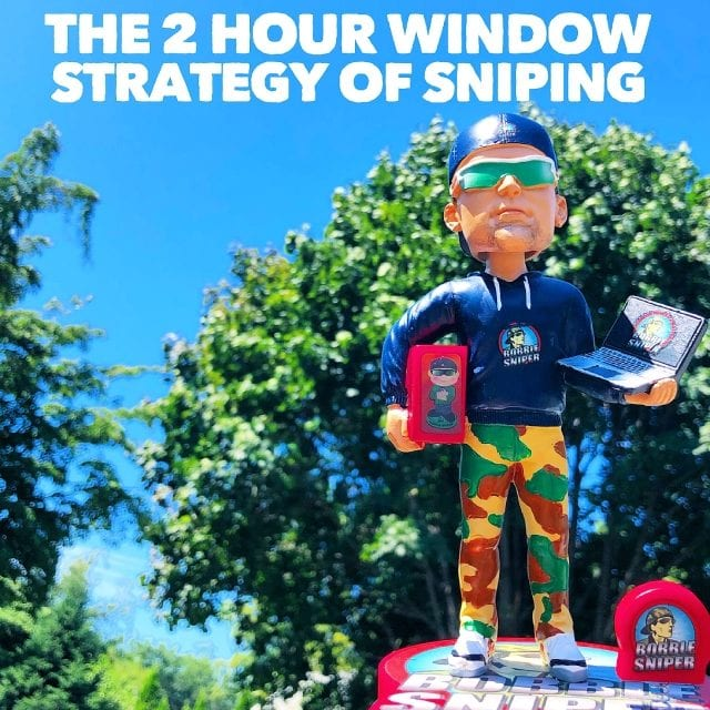 The 2 Hour Window Strategy of Sniping Bobbleheads