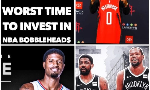 Why right now is the worst time to invest in NBA bobbleheads