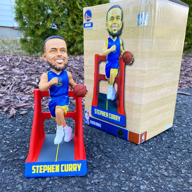 """Bobble of the Day Stephen Curry """"Special Edition"""" Bobblehead"""