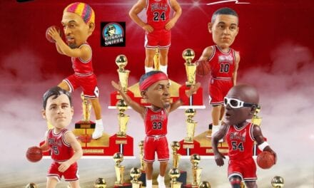 The Last Dance Continues…FOCO releases 4 New Exclusive Chicago Bulls Bobbleheads