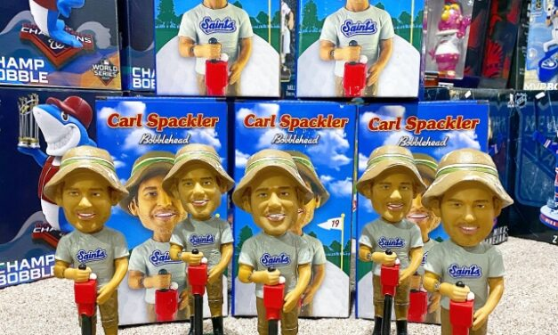 St. Paul Saints Pay Tribute to the classic movie Caddyshack with a Bobblehead