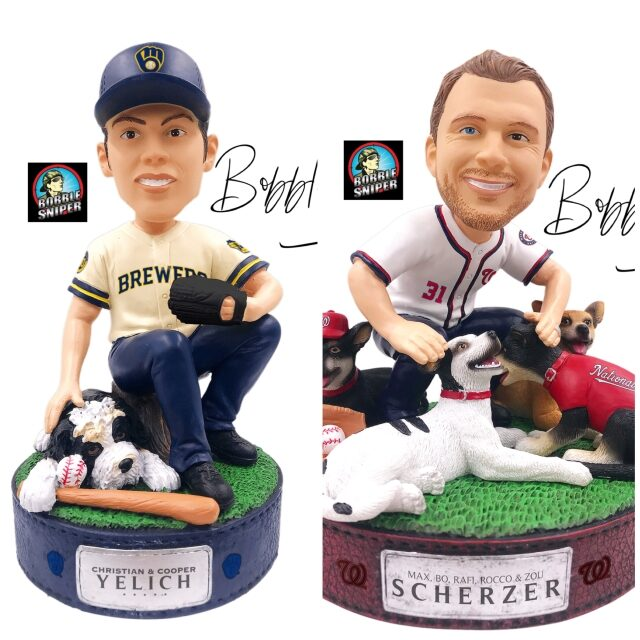 FOCO includes a Man's Best Friend on 2 New Exclusive Bobbleheads