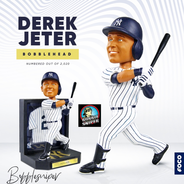 """The Captain Gets rewarded with his own """"Framed Showcase"""" Bobblehead"""