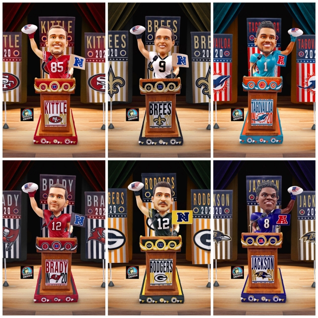 """And the Vote Is In! FOCO Releases a """"Swing Vote"""" Exclusive Bobblehead Series"""