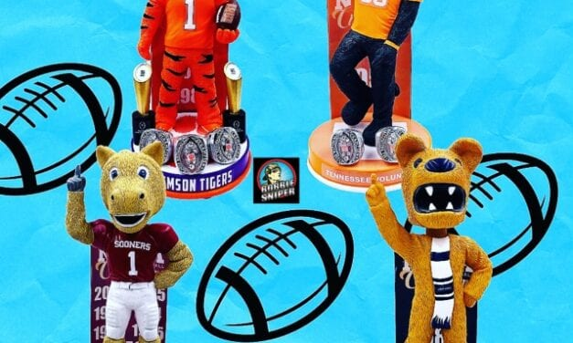 The Bobblehead Hall of Fame unveils 4 new College Football Championship Bobbleheads