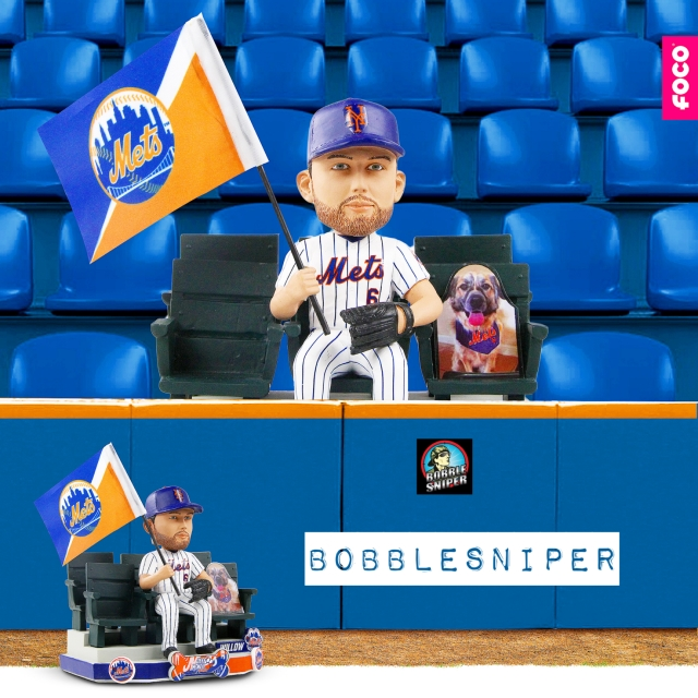 Willow's bark is loud as Jeff McNeil gets added to the Cutout Bobblehead Series