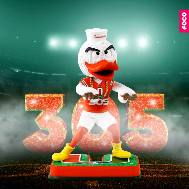 """FOCO Takes The Hurricanes to """"The Crib"""" With Their Newest Exclusive Bobblehead"""