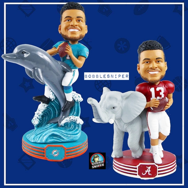 It's Tua Time in Miami and at the Bobblehead Hall of Fame
