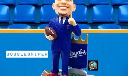 "Mahomes Becomes ""Royal"" Owner With An Exclusive Bobblehead"