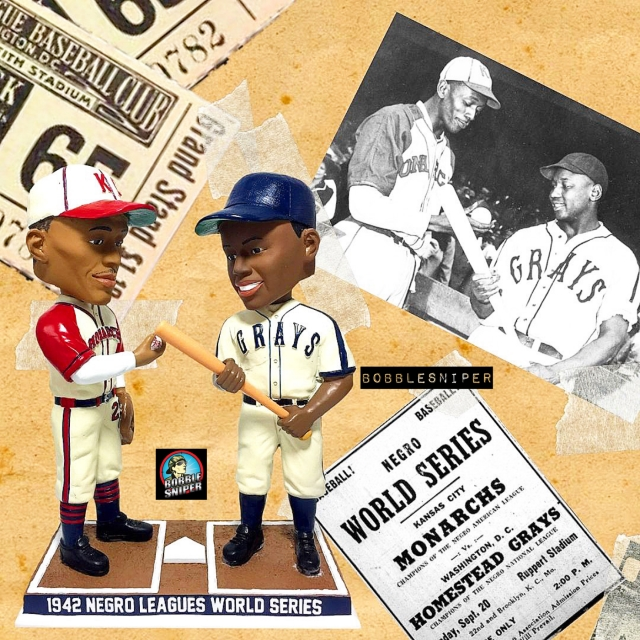The Bobblehead Hall Releases 1942 Negro Leagues World Series Bobbleheads