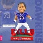 Bills Mafia Scores Big with a Dion Dawkins Exclusive Bobblehead