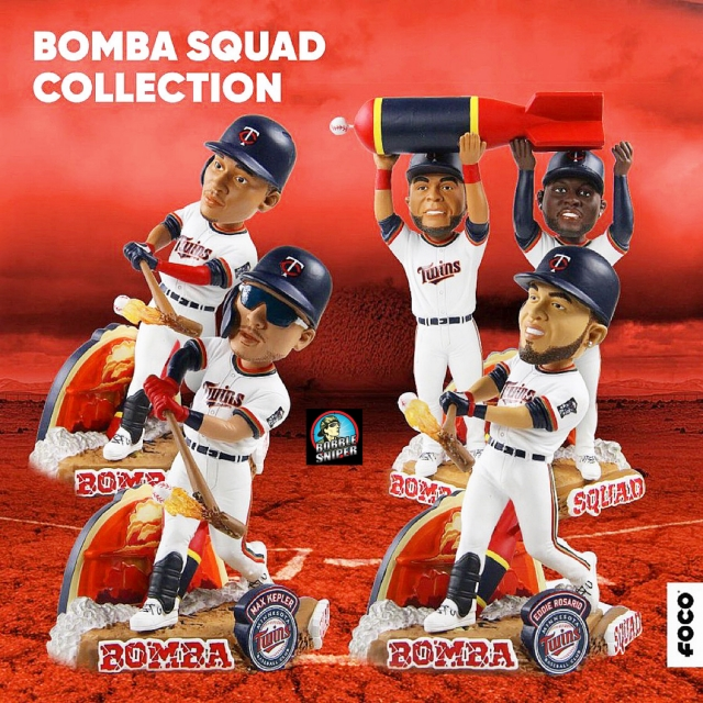 FOCO Hits a Homerun With An Official Bomba Squad Exclusive Bobblehead Set