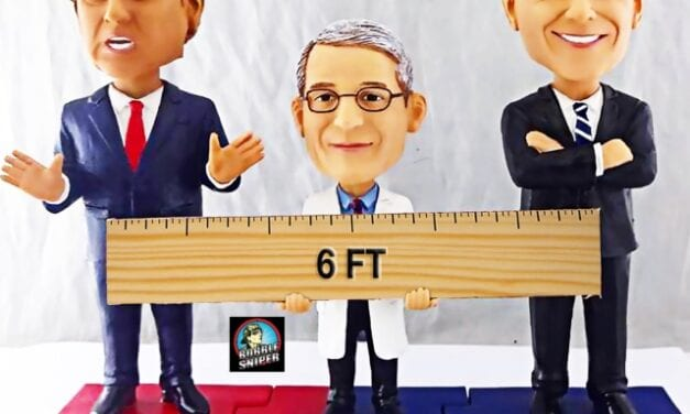 AGP Gets Political With An Exclusive Triple Bobblehead Of Trump, Fauci and Biden