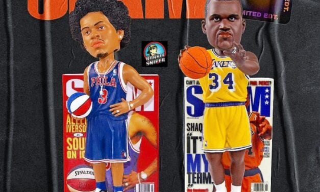The Return of Iverson and Shaq in remembrance of SLAM Magazine