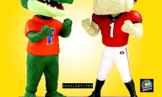 The Rivalry Continues Between Florida and Georgia With A New Dual Bobblehead