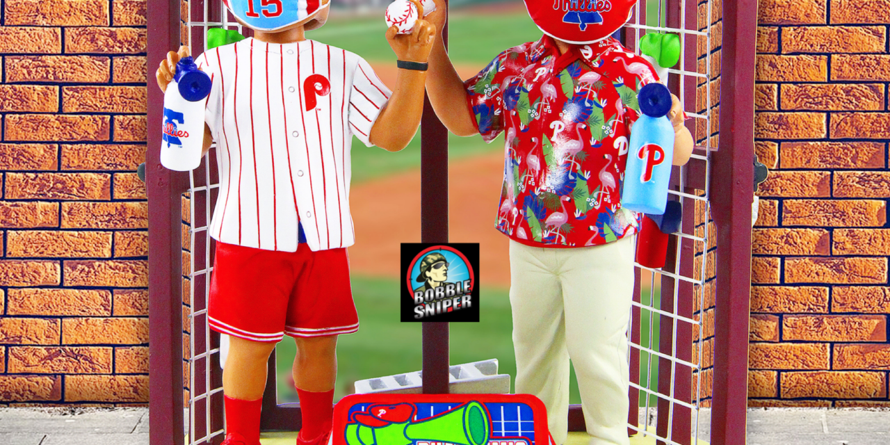 The Phandemic Krew Takes Their Fandom Inside the Ballpark With A Brand New Bobblehead