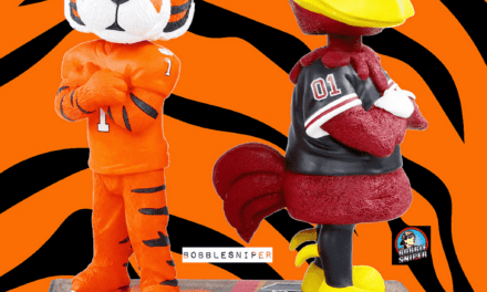 The Bobblehead Hall Goes Rival Again with the Gamecocks and Tigers