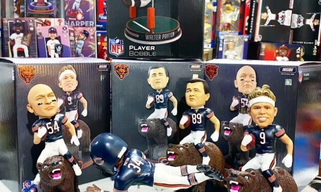 The Bobblehead Hall Celebrates The Chicago Bears 35th Anniversary Of Their Super Bowl Win