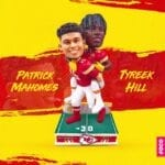 FOCO Piggybacks Mahomes And Hill With A Dazzling Exclusive Bobblehead