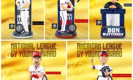 FOCO Celebrates Greatness With 5 New MLB Award Winning Bobbleheads