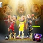 The King Gets Throned as FOCO Releases a Lebron James 4X Champion Bobblehead