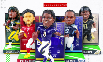 FOCO Kicks Off The Playoffs With NFL Trading Card Bobbleheads