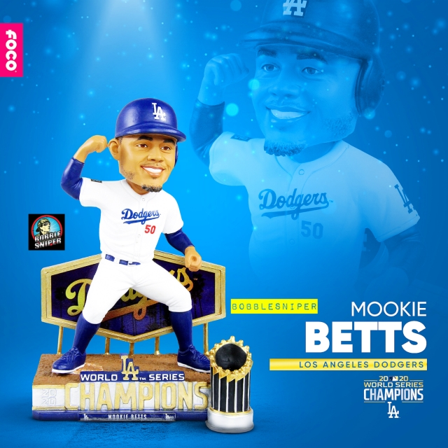FOCO Praises Mookie's Base-Running With An Exclusive Bobblehead