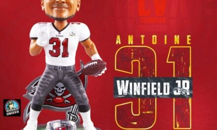 FOCO Salutes Antoine Winfield Jr's Famous Play With An Exclusive Bobblehead