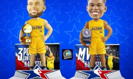 FOCO Celebrates Curry's Thrilling Win and Giannis' Perfect Night With New Exclusive Bobbleheads