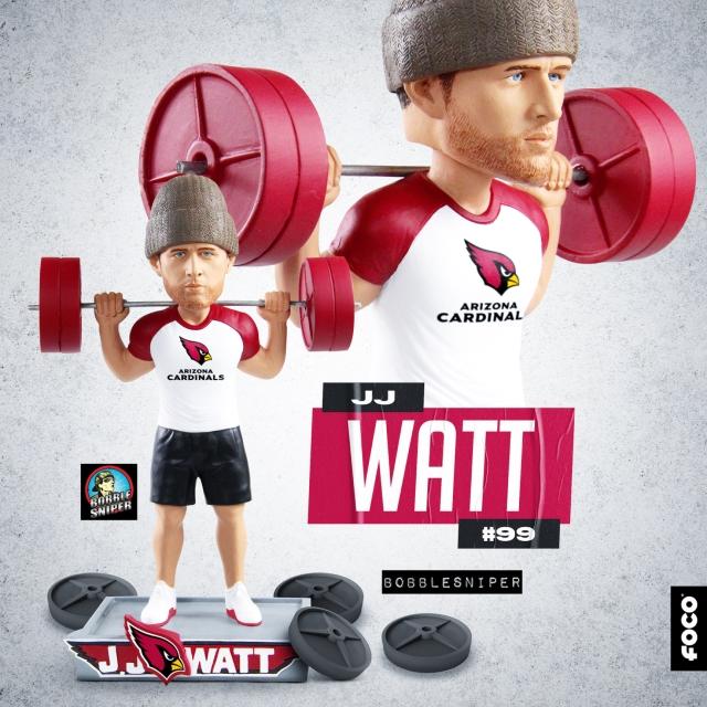J.J. Watt Is Now An Arizona Cardinal And He's Really Strong