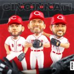 Votto Moustakas And Suarez Are Added To FOCO's Line Of Bobbleheads