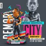DeMar Derozan Is FOCO'S 3rd NBA City Jersey Exclusive Bobblehead