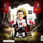 Tom Brady Is The GOAT For A Reason And He's Now Got A Pirate Ship GOAT Bobblehead