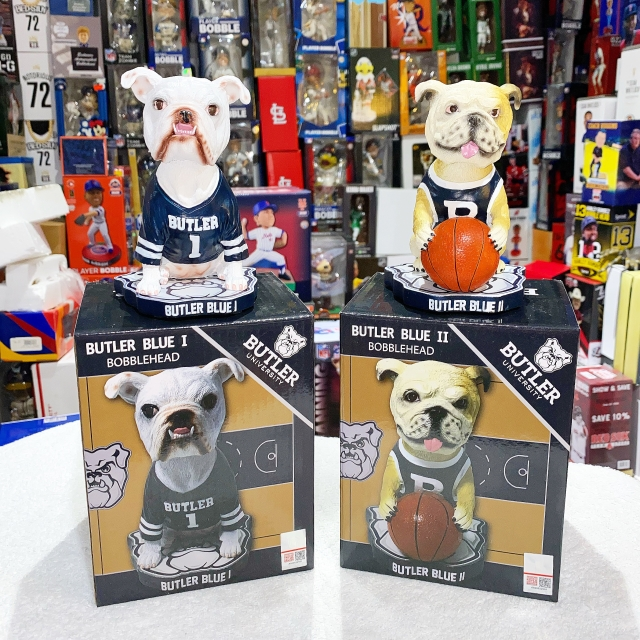 """The Bobble Hall And Butler Blue """"Bulldog"""" Their Way To The Top"""