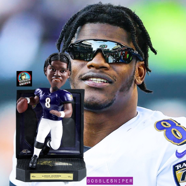 Lamar Jackson Is Really Good And The Bobblehead Hall Honors Him