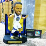 The Bobble Hall Celebrates Curry's Opening Night Triple Double