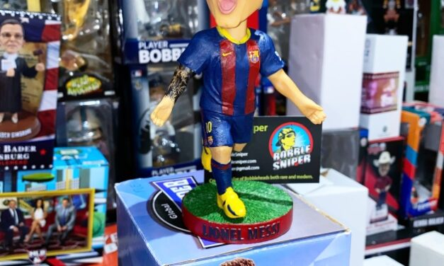 AGP Celebrates The Great Lionel Messi In The Form Of A Rare Bobblehead