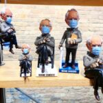 The Bobblehead Hall Of Fame Honors Bernie Sanders From His Viral Moment